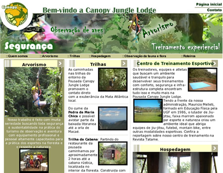 Canopy E Jungle Lodge