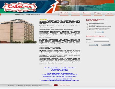 Cabi�na Palace Hotel